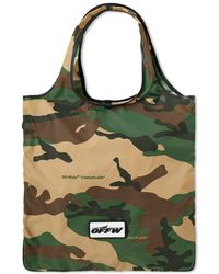 Off-White c/o Virgil Abloh - Camo Zip Tote - Lyst