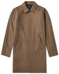 A.P.C. - Auster Wool Mac - Lyst