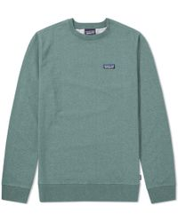 Patagonia - P-6 Label Midweight Crew Sweat - Lyst
