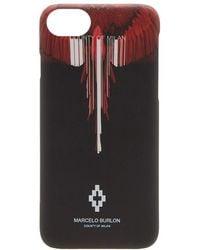 Marcelo Burlon - Wings Barcode Iphone 8 Case - Lyst