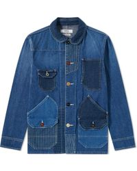 FDMTL - Patchwork Coverall Jacket - Lyst