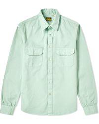 cafcd50c5a Lyst - Levi s Levi s Vintage 1955 Sawtooth Denim Shirt in Blue for Men