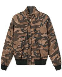 Baracuta - G9 Reversible Camouflage Jacket - Lyst