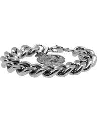 Alexander McQueen - Chunky Medallion Bracelet - Lyst