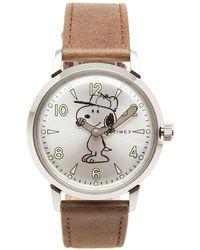 Timex - X Peanuts Welton Snoopy Watch - Lyst