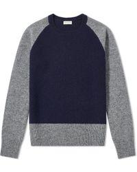 Dries Van Noten - Tamel Contrast Shetland Knit - Lyst