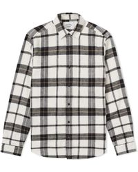 Portuguese Flannel - Marco Check Overshirt - Lyst