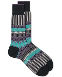 Ayame Socks - Basket Lunch Multi Sock - Lyst