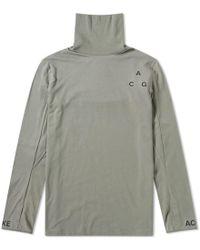 Nike - Acg Long Sleeve Tee - Lyst