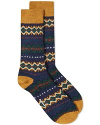 Barbour - Caistown Fair Isle Sock - Lyst