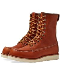 """Red Wing - 877 Heritage Work 8"""" Moc Toe Boot - Lyst"""