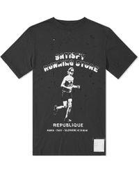 Satisfy - Bootleg Distressed Cotton-jersey T-shirt - Lyst