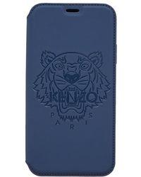 KENZO - Tiger Iphone X Folio Case - Lyst
