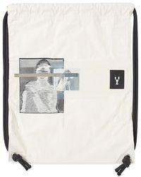 Rick Owens - Drkshdw Drawstring Patched Gym Bag - Lyst