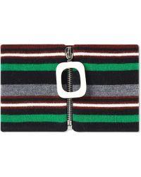 JW Anderson - Stripe Neckband - Lyst