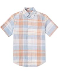 Gant Rugger - Selvedge Short Sleeve Shirt - Lyst