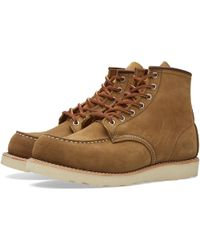 "Red Wing - 8881 Heritage Work 6"" Moc Toe Boot - Lyst"