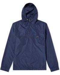 Soulland | Newill Popover Nylon Hood Jacket | Lyst