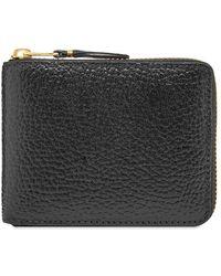 Comme des Garçons Comme Des Garcons Sa7100 Colour Inside Wallet - Black