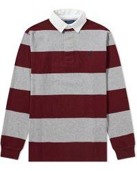 Polo Ralph Lauren - Stripe Rugby Shirt - Lyst