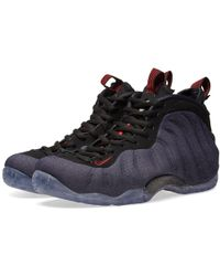 73495340f6cf Lyst - Nike 314996-008 Men Air Foamposite One Black Varsity Purple ...