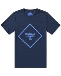 Barbour - Beacon Large Logo Tee - Lyst