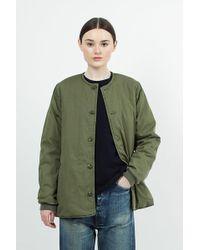 Chimala - Khaki Green Gi Poplin Military Jacket - Lyst