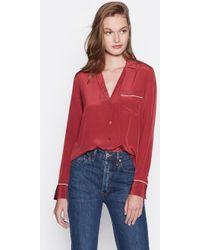Equipment - Keira Silk Shirt - Lyst