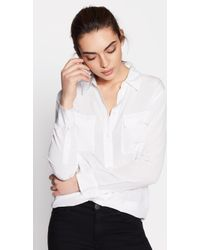 Equipment - Slim Signature Silk Shirt - Lyst
