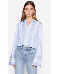 Equipment - Arlette Cotton Shirt With Contrast - Lyst