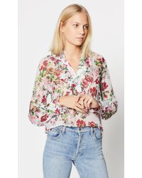 Equipment - Samine Silk Shirt - Lyst