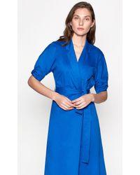 Equipment Anitone Dress - Blue
