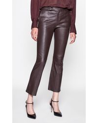 Equipment Sebritte Leather Trouser - Multicolour