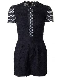 Ted Baker - Daycee Lace Playsuit - Lyst