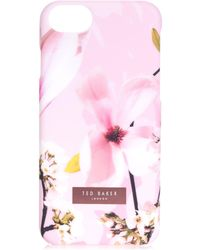 Ted Baker - Coffee Harmony Iphone 6/6s/7/8 Case In Blue - Lyst