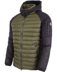 Colmar - Light Down Two Tone Hooded Jacket - Lyst
