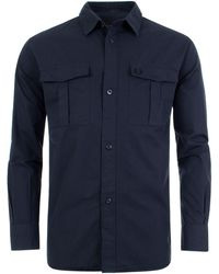 Fred Perry - Utility Overshirt - Lyst