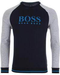 BOSS Black - Authentic Crew Sweat - Lyst