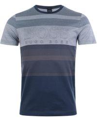 BOSS Athleisure - Athleisure Teep 2 Embossed T-shirt - Lyst