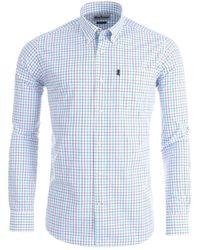 Barbour - Patrick Shirt In Plum - Lyst