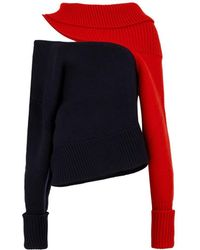 Monse - Cut Out Jumper - Lyst