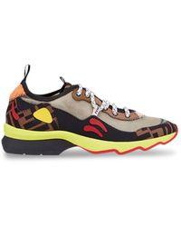 Fendi - Multicolour Technical Mesh Sneakers - Lyst