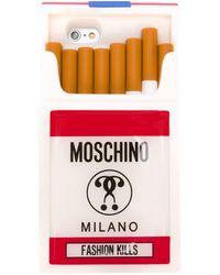 Moschino - Fashion Kills iPhone Cover - Lyst