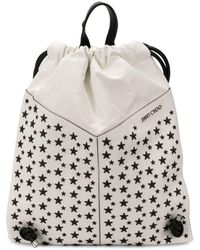 Jimmy Choo - Marlon Biker Drawstring Backpack - Lyst