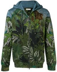Etro - Jungle Print Bomber Jacket - Lyst