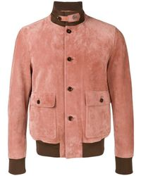 Tom Ford - Fitted Bomber Jacket - Lyst