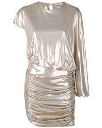 Amen - Asymmetric Mini Dress - Lyst