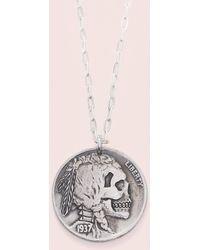 Erica Weiner - Death's Head Amulet - Lyst