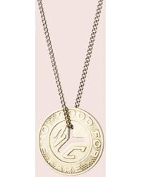 Erica Weiner - Ny Transit Token Necklace (large) - Lyst