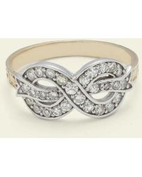 Erica Weiner - Bow Ring (diamond) - Lyst